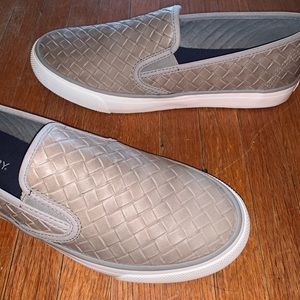 Sperry Shoes - Sperry Women's Seaside Emboss Weave Slip-On Shoes